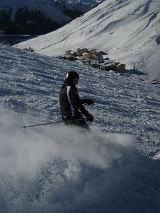 Free Skiing In Tirol / Tyrol Stock Photo - 4278340