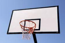 Outdoor Basketball Hoop Stock Photos