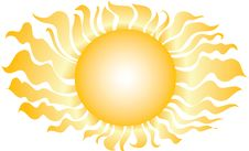 Free The Gold Sun Royalty Free Stock Photography - 4278457