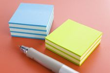 Free Sticky Notes Stock Image - 4278501