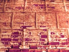 Free Grunge Brick Wall Background Texture Stock Images - 4278994
