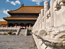 Free Forbidden City Royalty Free Stock Image - 4279216