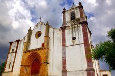 Free Portugal, Area Of Algarve, Silves: Church Stock Photos - 4279353