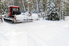 Free Snowplow Royalty Free Stock Image - 4279636