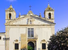 Portugal, Algarve, Lagos: Santo Antonio Church Stock Image