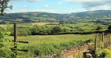 Tourism Wales: Beautiful Scenery In Rural Wales Royalty Free Stock Images