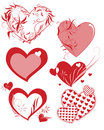 Free Multiple Hearts Shapes Royalty Free Stock Photography - 4288477
