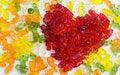Free Sweet Jelly Heart. Royalty Free Stock Photo - 4289315