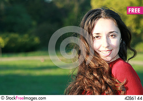 Free Girl In Park Stock Images - 4286144