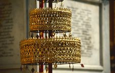 Free Golden Ornament In Thai Temple Royalty Free Stock Photography - 4280367