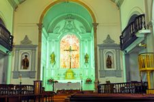 Portugal, Algarve, Lagos: Santo Antonio Church Stock Images