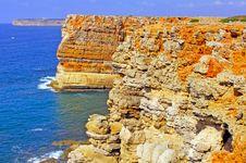 Free Portugal, Algarve, Sagres: Coastline Stock Image - 4280741