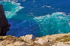 Free Portugal, Algarve, Sagres: Wonderful Coastline Stock Images - 4280784