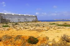Free Portugal, Algarve, Sagres: Fortification Stock Photos - 4280833