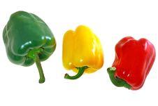 Free Red Yellow Green Bulgarian Pepper.jpg Stock Photos - 4280843