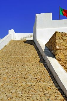 Free Portugal, Algarve, Sagres: Fortification Stock Images - 4280854