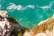 Free Portugal, Algarve, Sagres: Wonderful Coastline Royalty Free Stock Photography - 4280877