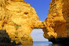 Free Portugal, Algarve, Lagos: Wonderful Coastline Stock Photography - 4280972