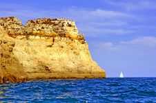 Free Portugal, Algarve, Lagos: Wonderful Coastline Royalty Free Stock Images - 4281039