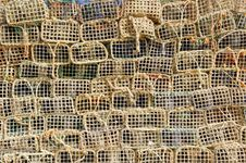 Free Portugal, Algarve, Olhao: Lobster Pot Stock Photos - 4281053