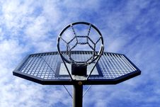Free Basketball Hoop Royalty Free Stock Image - 4281056