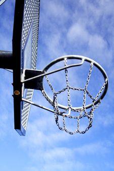 Free Basketball Hoop Royalty Free Stock Image - 4281076
