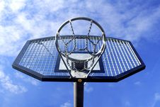 Free Basketball Hoop Royalty Free Stock Image - 4281086