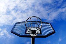 Free Basketball Hoop Royalty Free Stock Photo - 4281095