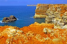 Free Portugal, Algarve, Sagres: Wonderful Coastline Stock Photo - 4281270