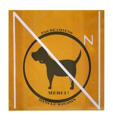 No Dog Warning 2 Royalty Free Stock Photography