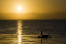 Free Rising Sun In Zanzibar Royalty Free Stock Image - 4281526