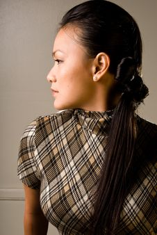 Free Looking To The Side 2 - Fashion Series Stock Photo - 4281610