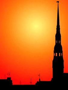 Free Riga Town. Stock Image - 4281841
