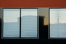 Free Windows Of The Modern Building. Stock Photography - 4282132