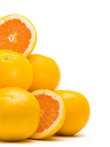 Free Orange Pile Royalty Free Stock Photography - 4282137