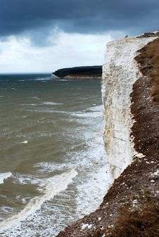 Cliffs Of Beachy Head, UK Royalty Free Stock Photography