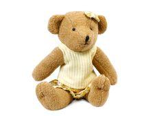 Free Teddybear Girl Royalty Free Stock Photo - 4282765