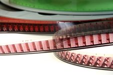 Free Film Reels Closeup Royalty Free Stock Photo - 4283335