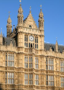 Free British Parliament Details Royalty Free Stock Photography - 4283337
