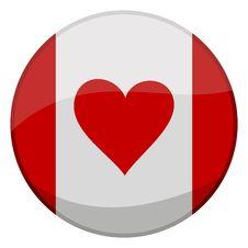 Free I Love Canada Royalty Free Stock Photos - 4283488