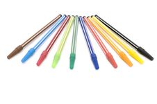 Free Markers Royalty Free Stock Photography - 4284937