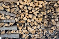 Free Pile Of Firewood Stock Photo - 4286090