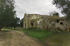 Church Ruins Stock Image