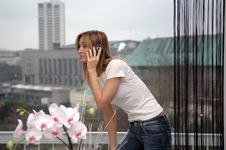 Free Woman On Phone Royalty Free Stock Photography - 4286467