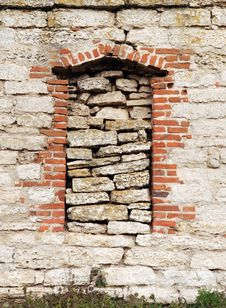 Free The Immured Window Stock Photo - 4286630
