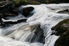Free Ice Stream Royalty Free Stock Image - 4287346