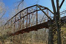 Free Old Iron Bridge Royalty Free Stock Photos - 4287428