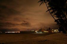 Free Natatorium War Memorial Oahu Night Stock Image - 4288371