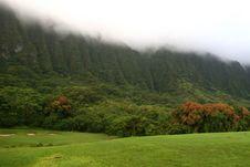 Ko Olau Golf Course North Coast Oahu Stock Photography