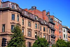 Free Beacon Hill, Boston Royalty Free Stock Photography - 4288827